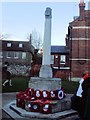 TQ7468 : War memorial, Rochester by Paul Gillett