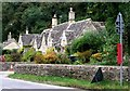 SP1106 : Cottages on B4425, Bibury by nick macneill