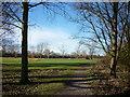 TA0832 : Oak Road playing fields by Ian S
