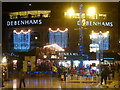 SZ0891 : Bournemouth: Christmas lights in The Square by Chris Downer