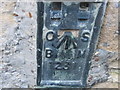 SK9214 : Ordnance Survey  Flush Bracket 1231 by Peter Wood