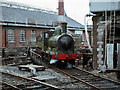 O1635 : Steam locomotive on Connolly turntable by TheTurfBurner