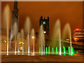 SJ8398 : Fountains at Greengate by David Dixon