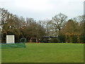 TL7806 : Swings and nets, Little Baddow Sports Field by Robin Webster
