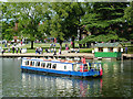 SP2054 : Cruise boat at Stratford-upon-Avon, Warwickshire by Roger  Kidd