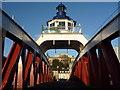 NZ2563 : Newcastle Townscape : Seeking Symmetry On The Swingbridge : Week 50