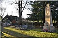SK3758 : War memorial and lychgate - Brackenfield churchyard by Neil Theasby