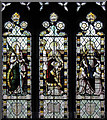 TL6669 : St Margaret, Chippenham - Stained glass wndow by John Salmon