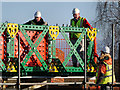 SD7506 : Working on the Meccano Bridge by David Dixon
