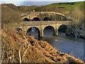 SD7506 : River Irwell, Prestolee Bridge by David Dixon