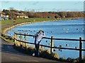 SO1210 : Watching ducks on Bryn Bach Park Lake by Robin Drayton