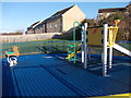 SE2324 : Play Area - Springfield Avenue by Betty Longbottom