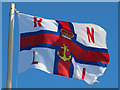TQ8209 : RNLI flag by Oast House Archive