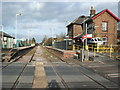TA1076 : Hunmanby railway station, Yorkshire by Nigel Thompson
