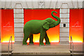 TQ3181 : Green elephant by Richard Croft