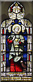 TQ2388 : Christ Church, Brent Street, Hendon - Stained glass window by John Salmon