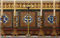 TQ2388 : Christ Church, Brent Street, Hendon - Reredos by John Salmon
