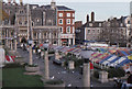 TG2208 : Norwich, Market Square by Christopher Hilton