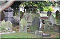 TQ2289 : St Mary, Church End, Hendon - Churchyard by John Salmon