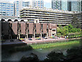 TQ3281 : Guildhall School of Music and Drama, Barbican EC2 by Robin Stott