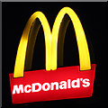 TQ3303 : McDonald's sign by Oast House Archive