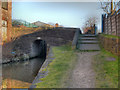 SJ9498 : Plantation Street Bridge, Huddersfield Narrow Canal by David Dixon