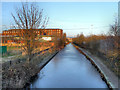 SJ9297 : Ashton Canal, Ashton-Under-Lyne West End by David Dixon