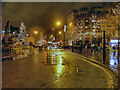 SJ8498 : Christmas Lights, Piccadilly by David Dixon