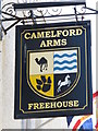 TQ3103 : Sign for The Camelford Arms, Camelford Street,. BN2 by Mike Quinn