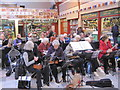 NZ2464 : Grainger Market, Silver Ukulele Players Christmas Concert by Les Hull