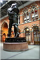 TQ3082 : The Meeting Place, St Pancras Station, London N1 by Christine Matthews