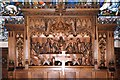 TL1551 : St James &amp; St Edmund, Blunham - Reredos by John Salmon