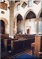 TL1551 : St James &amp; St Edmund, Blunham - Interior by John Salmon