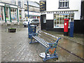 SD2878 : Bench, Market Street, Ulverston by Graham Robson
