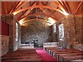 NT2463 : Interior of Glencorse Old Kirk by Jim Barton