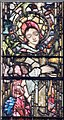 SJ6552 : St Mary, Nantwich - Stained glass window by John Salmon