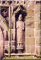 SJ7049 : St Chad, Wybunbury - Statue by John Salmon