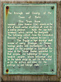 SZ0090 : Town Beam Plaque by David Dixon