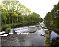 N9229 : Liffey Weir at Straffen by MBE21