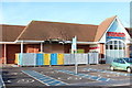 TQ8833 : Damaged Tesco Tenterden by Oast House Archive