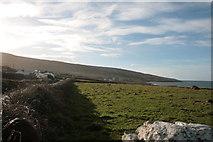 M1205 : Fields in Fanore by Barry Hunter