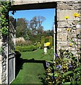 ST7893 : Walled garden, Newark Park by nick macneill
