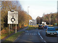 SY9491 : Wareham Road approaching the Blackhill Roundabout by David Dixon