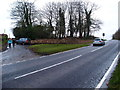 SP7515 : Road junction on Waddesdon Hill by Michael Trolove