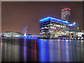 SJ8097 : North Bay, Salford Quays by David Dixon
