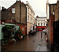 TQ3877 : Greenwich Market Area, SE10 by David Hallam-Jones
