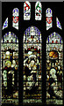 TL4905 : St Andrew, North Weald - Stained glass window by John Salmon