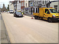 SP2864 : Jury Street resurfaced for the Olympic Torch Relay by Robin Stott