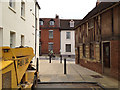 SP2864 : New road closure and paving, Brook Street by Robin Stott