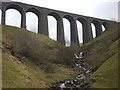 SD7785 : Artengill Beck and Viaduct by Karl and Ali